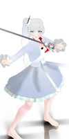 mmd weiss wip1 [OLD] by whimsicottsh