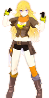 mmd .::Yang Xiao Long::. by whimsicottsh