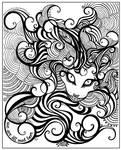 Cheshire Cat by vasodelirium