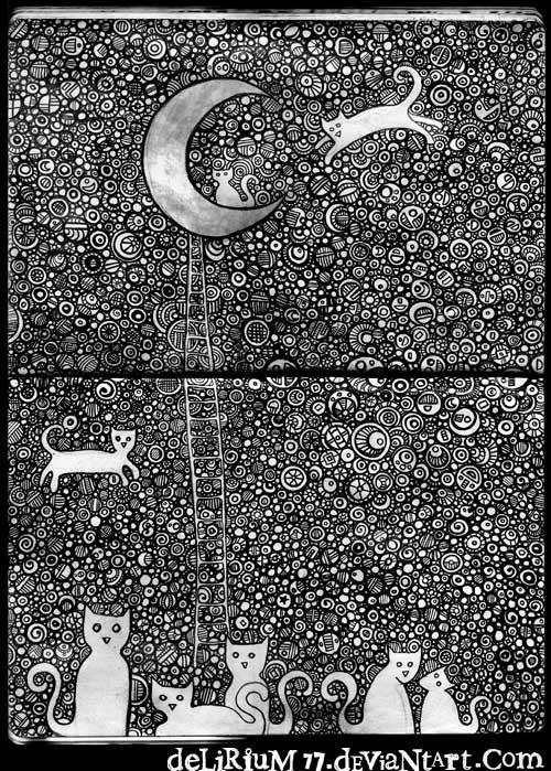 cats of Ulthar by vasodelirium