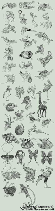 clockwork creatures