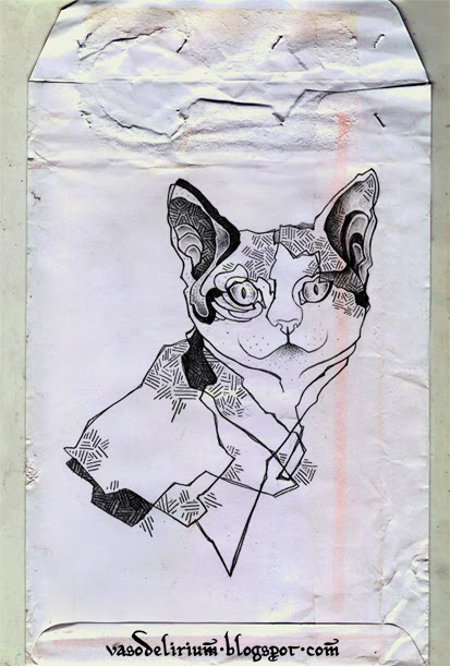 fat cat by vasodelirium