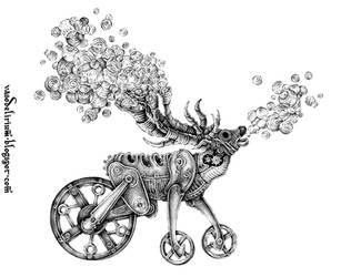 Deer Carrier by vasodelirium