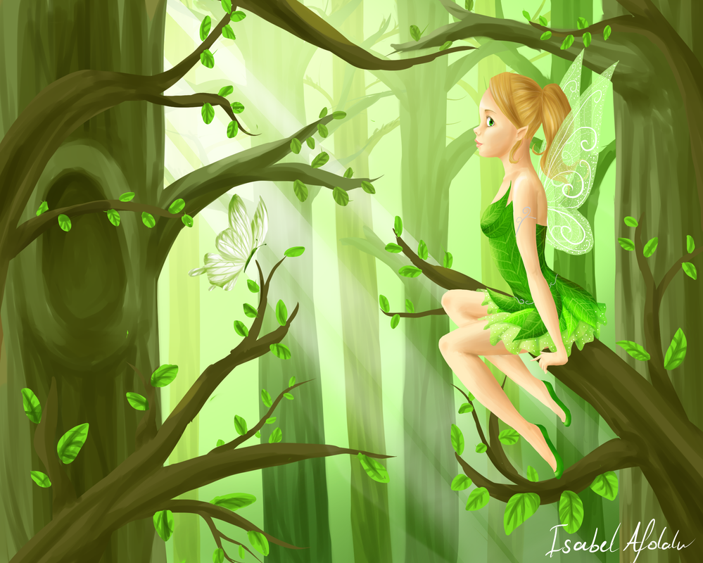 Forest Fairy by Yonomi