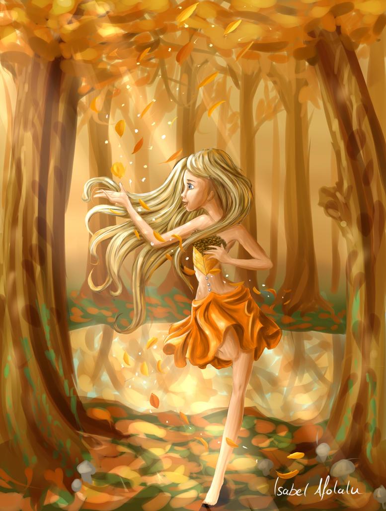 Spirit of Fall by Yonomi