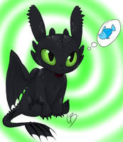Chibi Toothless For Sale by ButtPirateCas