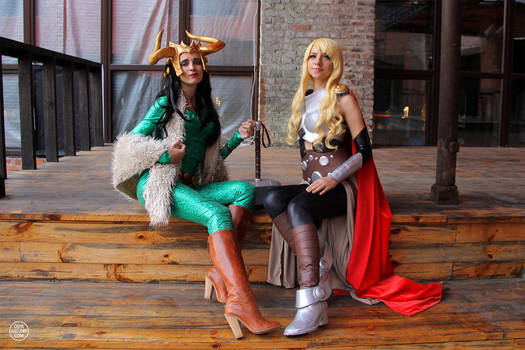 Thor Jane Foster and Lady Loki from Marvel 02