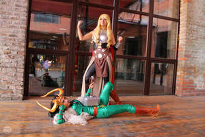 Thor Jane Foster and Lady Loki from Marvel 03