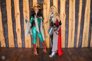 Thor Jane Foster and Lady Loki from Marvel 05