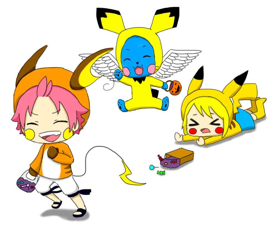 Fairy Tail: Pikachu Evolution by bunnyliou on DeviantArt