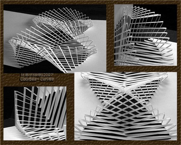 Curves Kirigami by phoxic