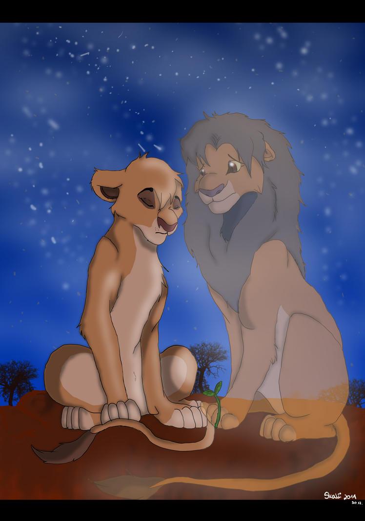 Vitani and Kopa by Ska...