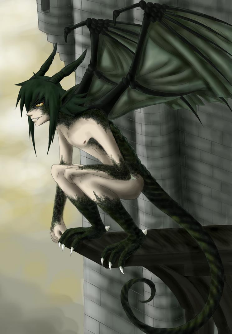 Teru half dragon by noahasai on deviantart - Anime boy dragon ...