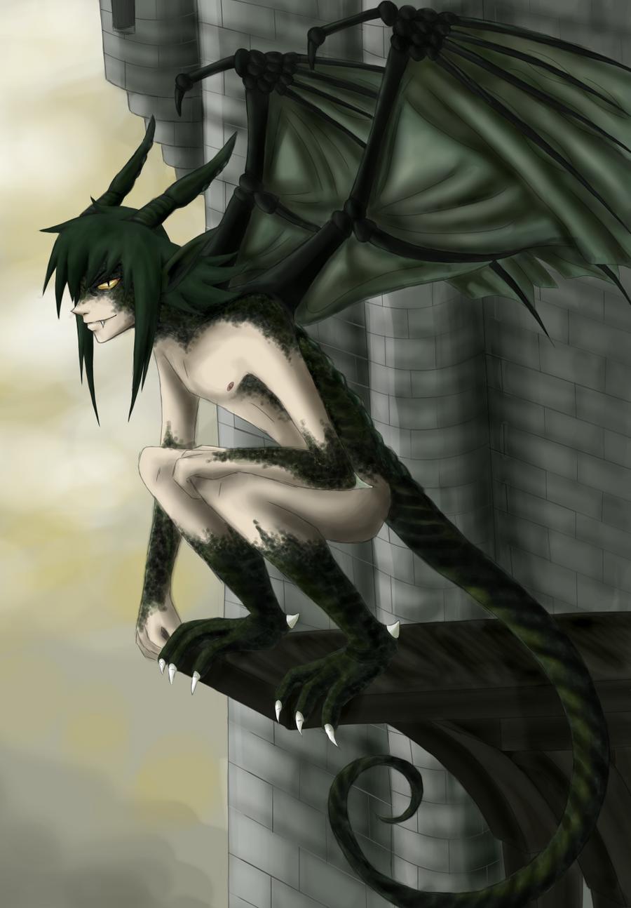 Dragon hybrid anime sex scene
