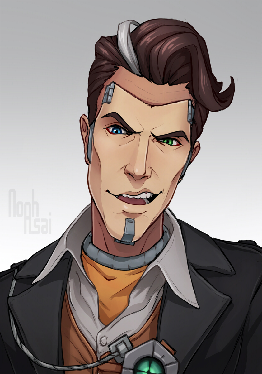 Handsome Jack By Noahasai On Deviantart