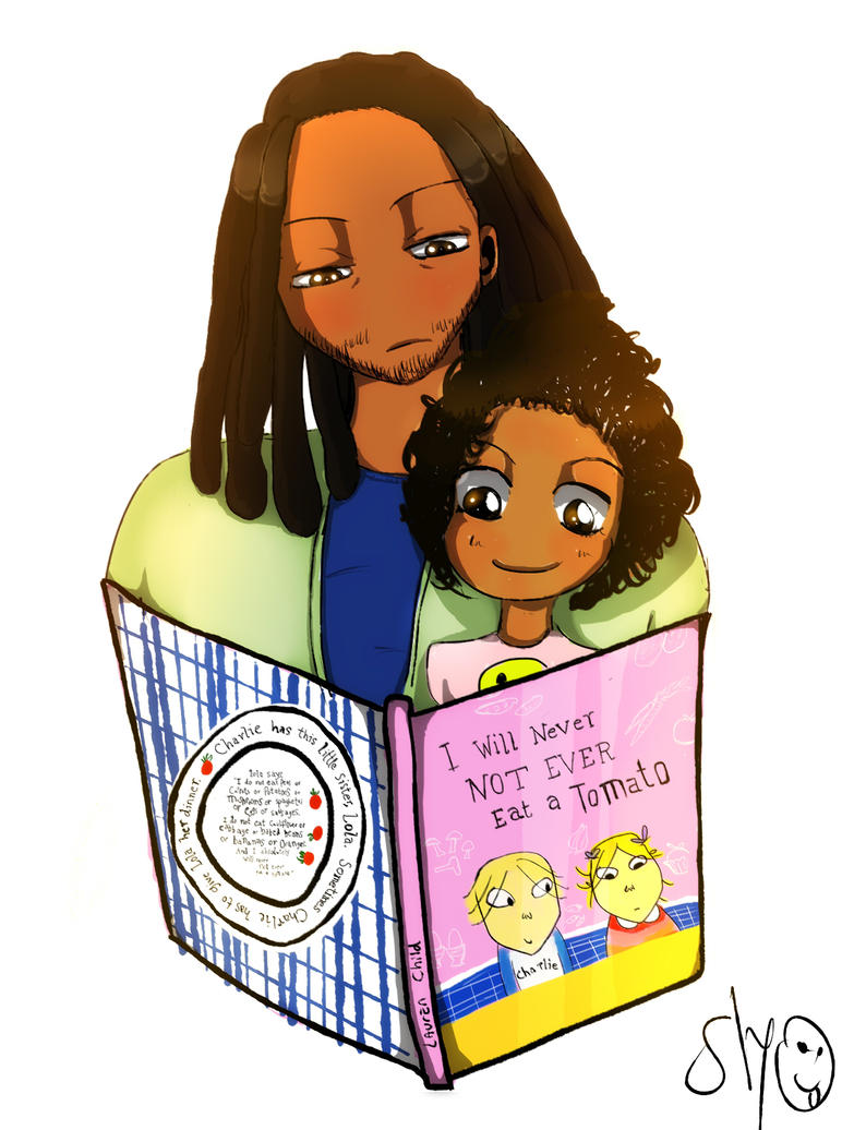 Yumi and Rik read a book by SLYKM