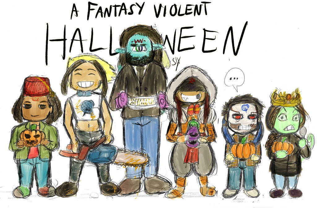 A Fantasy Violent Halloween by SLYKM
