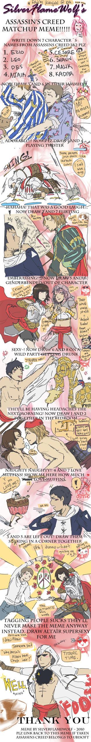 assassins_creed_match_up_meme_by_kittyjohl d3arwtv assassins creed match up meme by kittyjohl on deviantart