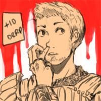 Dragon Age:Alistair Nosepickin by Kittyjohl