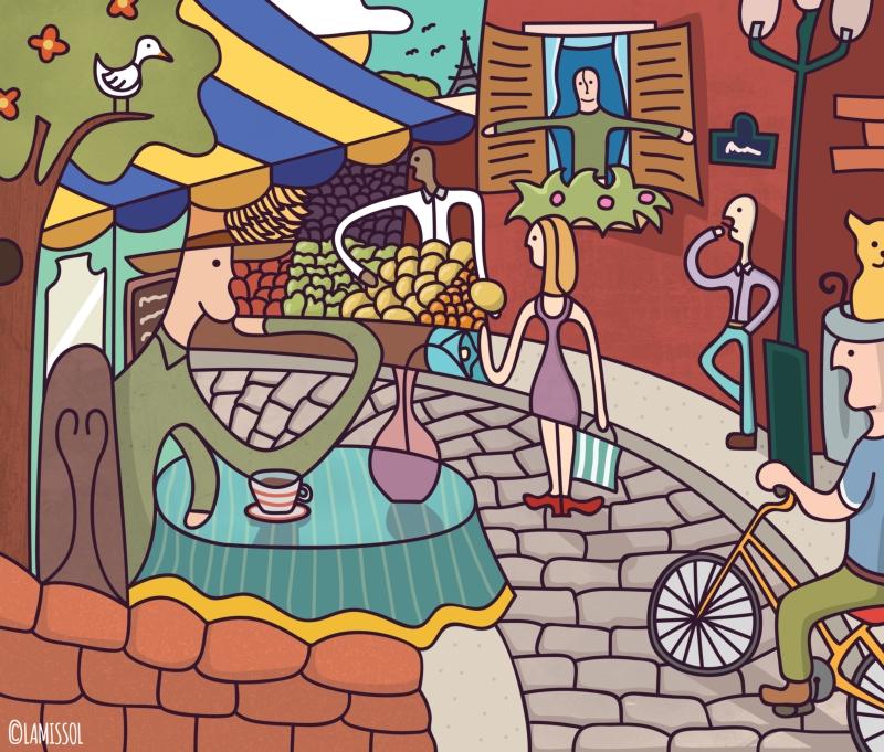 Lamppost Cat Wallpaper  S Sixties