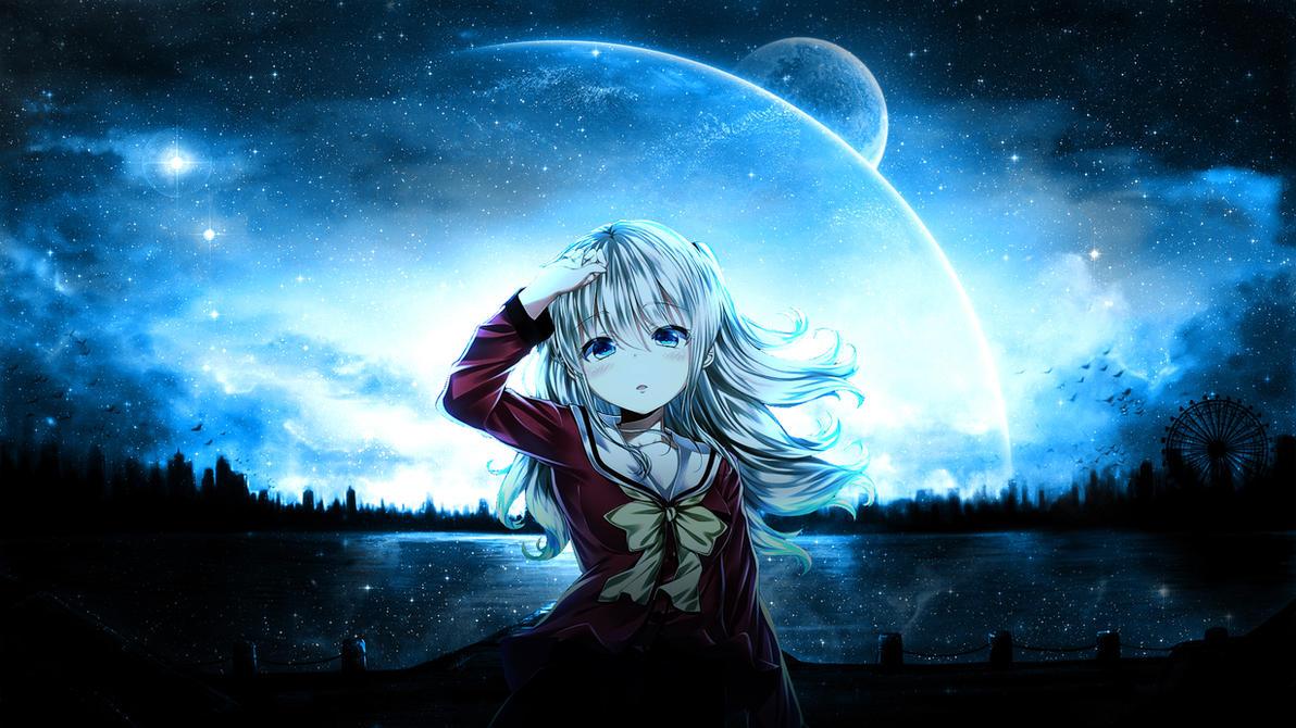 Image Result For Charlotte Anime Live Wallpaper