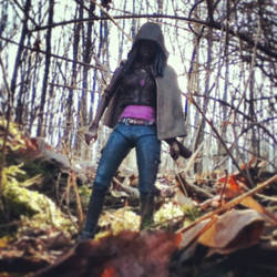 Michonne in the Forest
