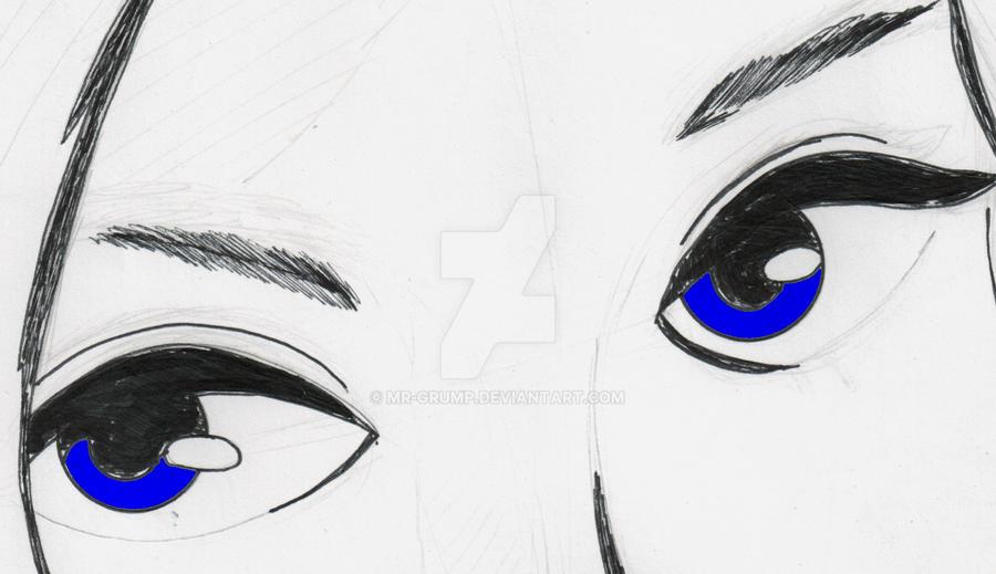 Adelles Eyes by mr-grump