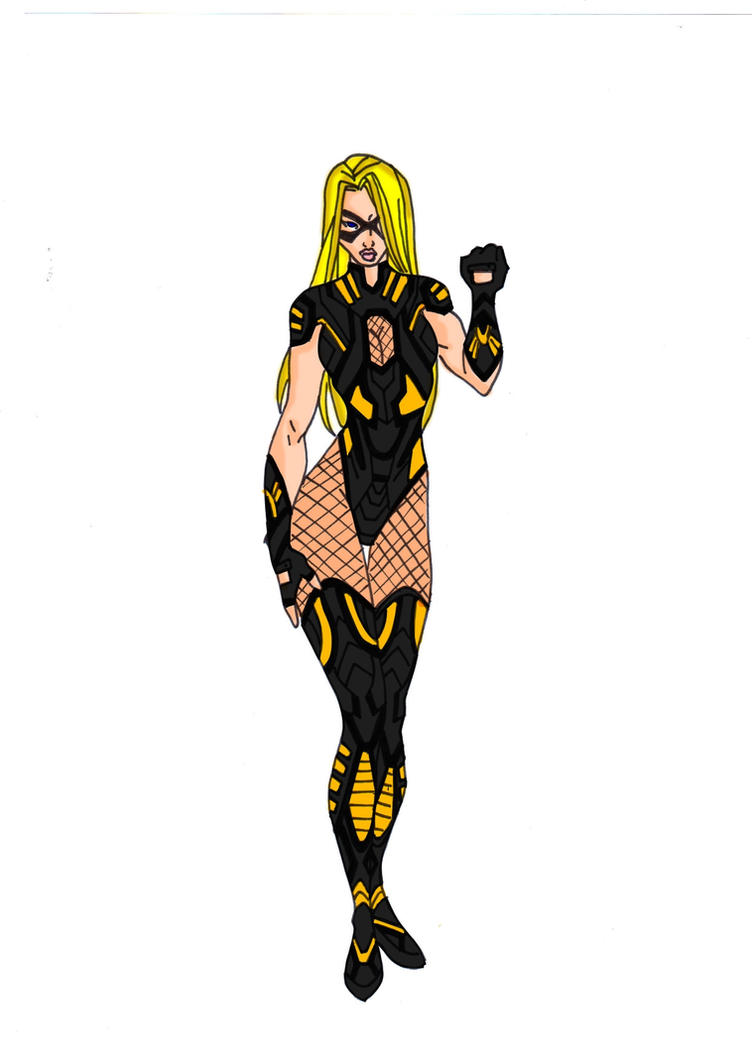 Black Canary Redesign by Comicbookguy54321