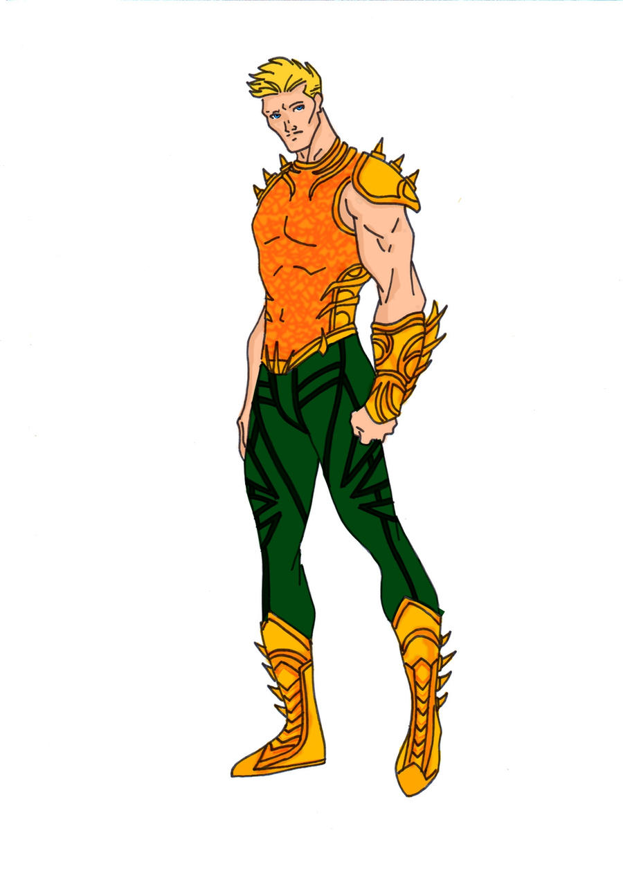 Aquaman Redesign by Comicbookguy54321