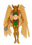 Hawkgirl Redesign