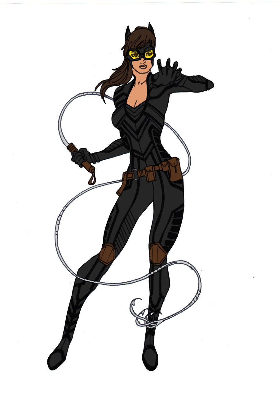 Catwoman Redesign By Comicbookguy54321 On DeviantArt