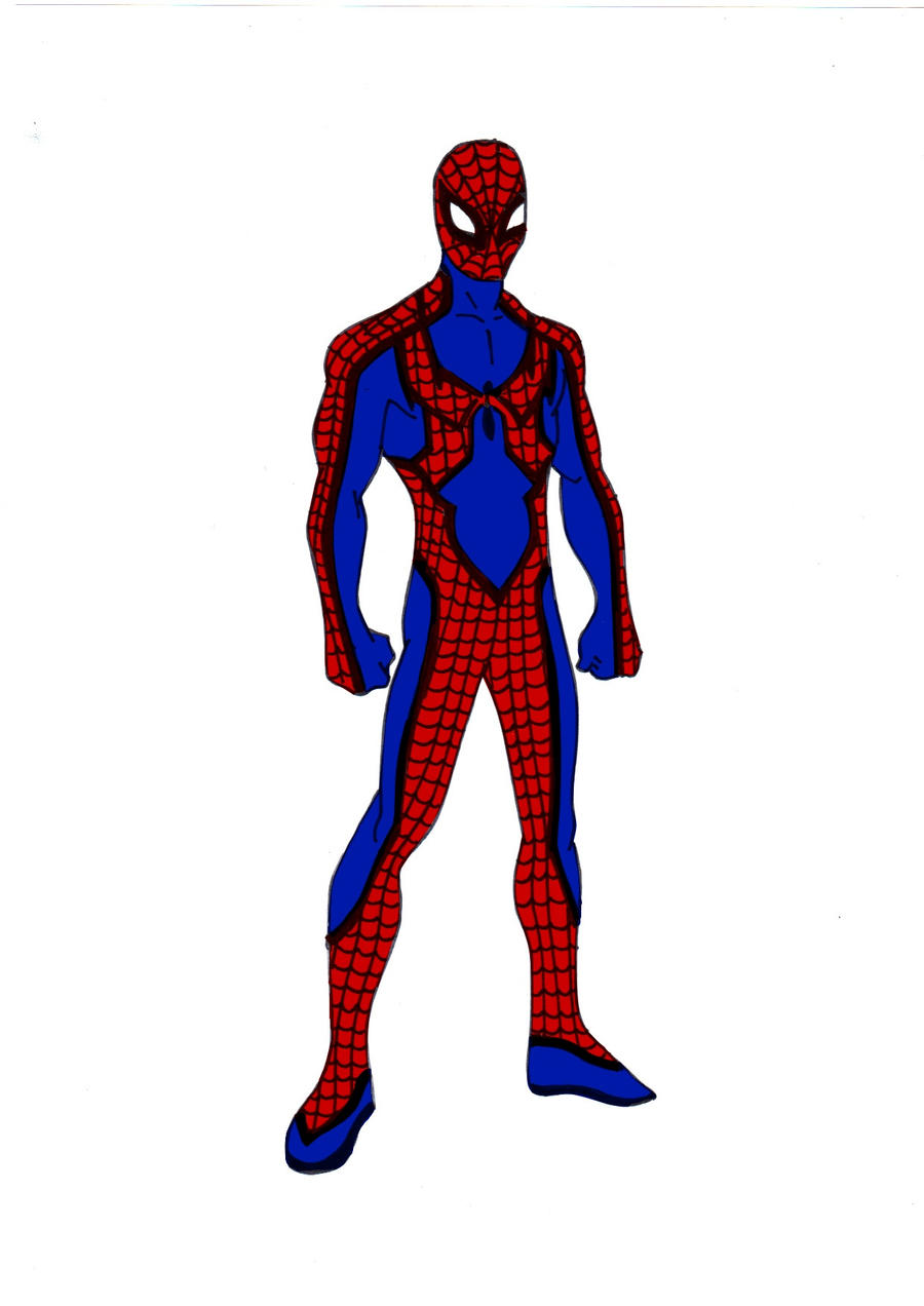Spiderman Redesign! by Comicbookguy54321