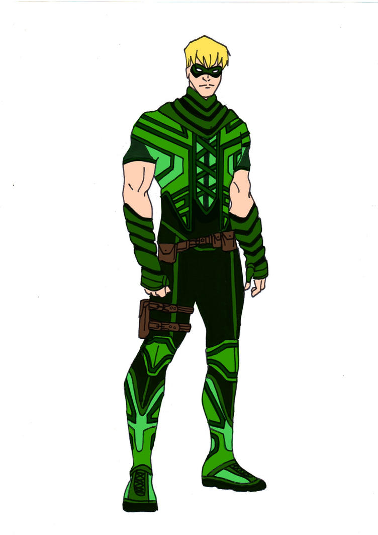 Green Arrow Redesign! by Comicbookguy54321