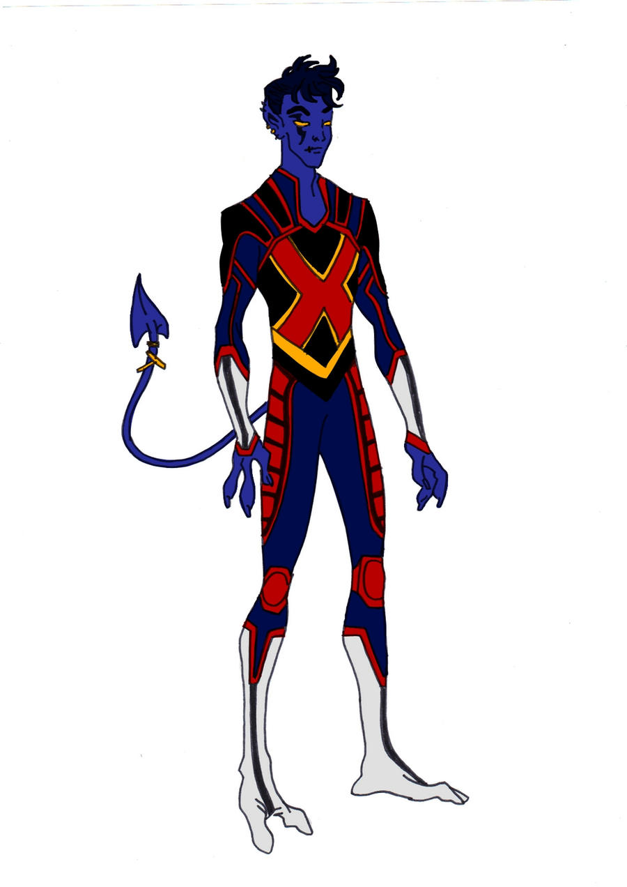 Nightcrawler Redesign! by Comicbookguy54321