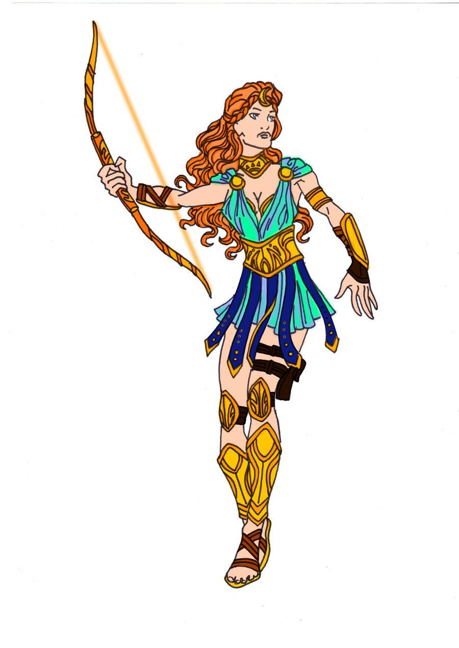 Artemis Goddess Of The Hunt By Comicbookguy54321 On Deviantart