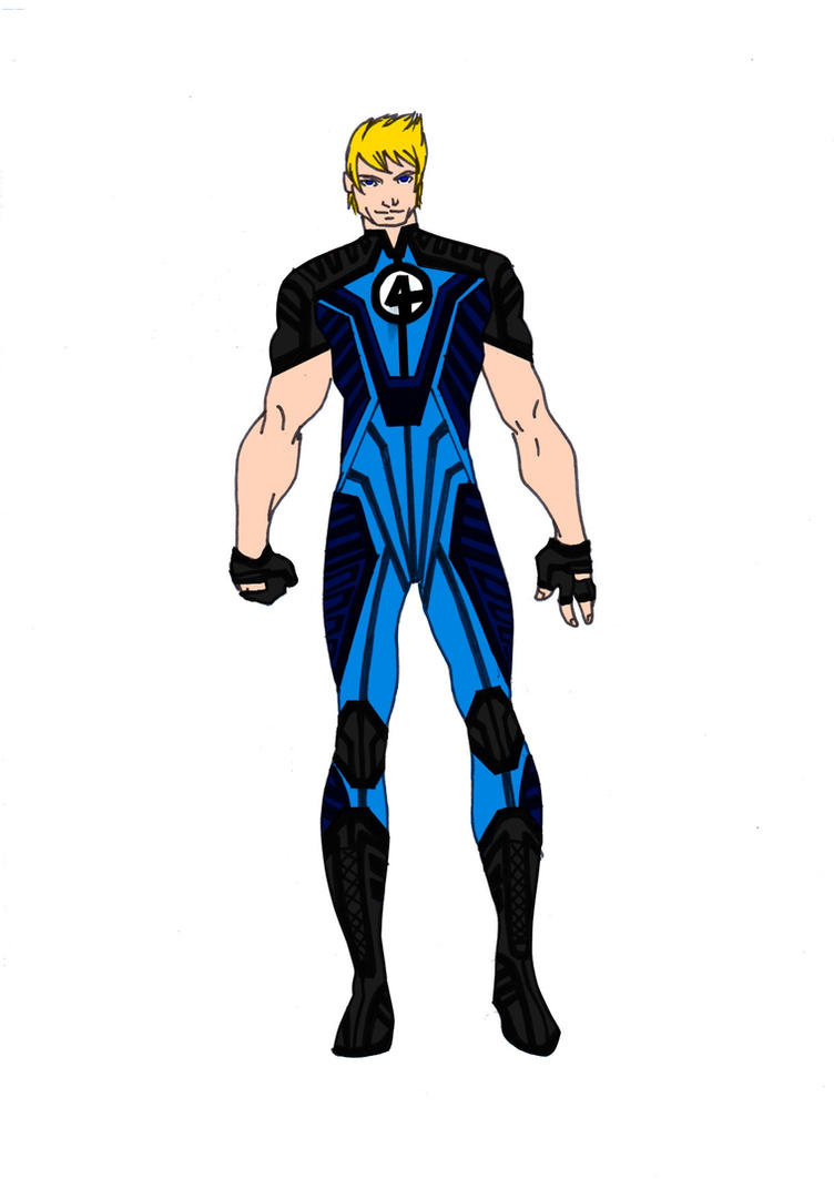 Human Torch Redesign! by Comicbookguy54321