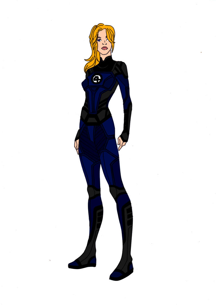 Invisible Woman Redesign! by Comicbookguy54321