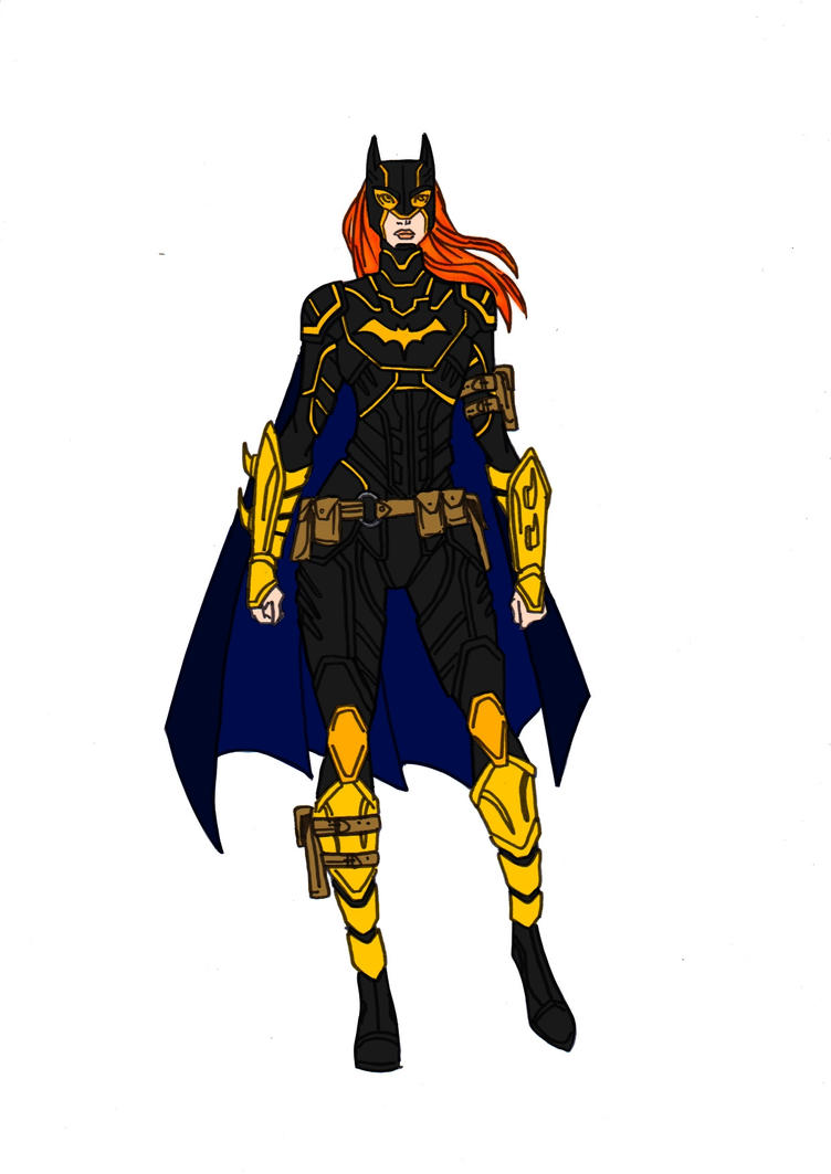 Batgirl (Barbara Gordon) Redesign! by Comicbookguy54321