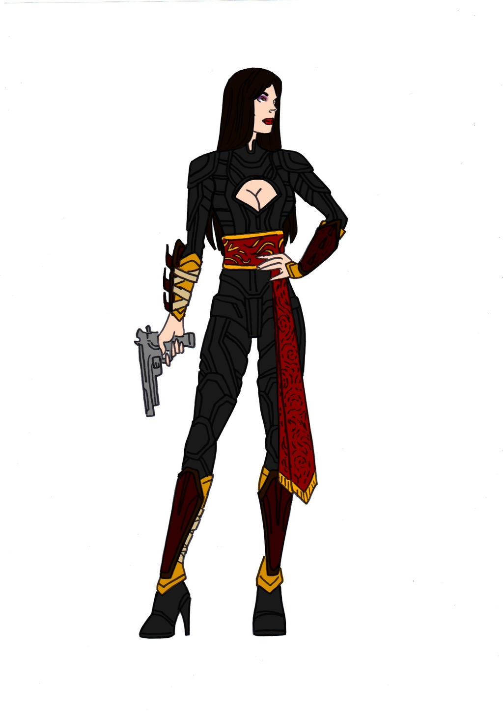 Talia Al Ghul Redesign! by Comicbookguy54321