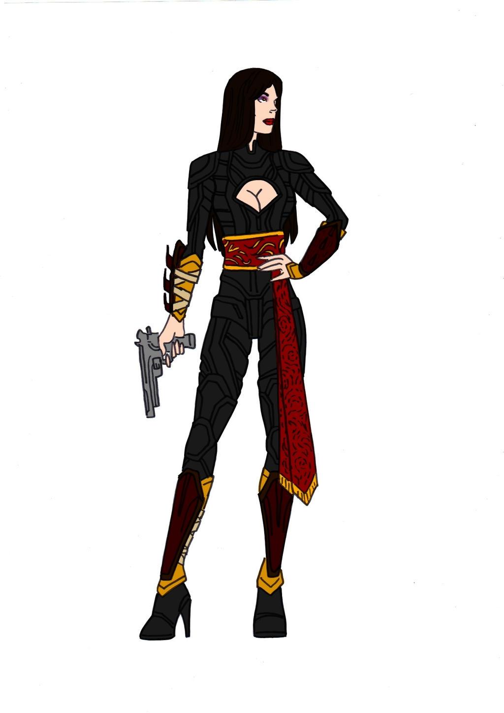 Talia Al Ghul Redesign! by Comicbookguy54321