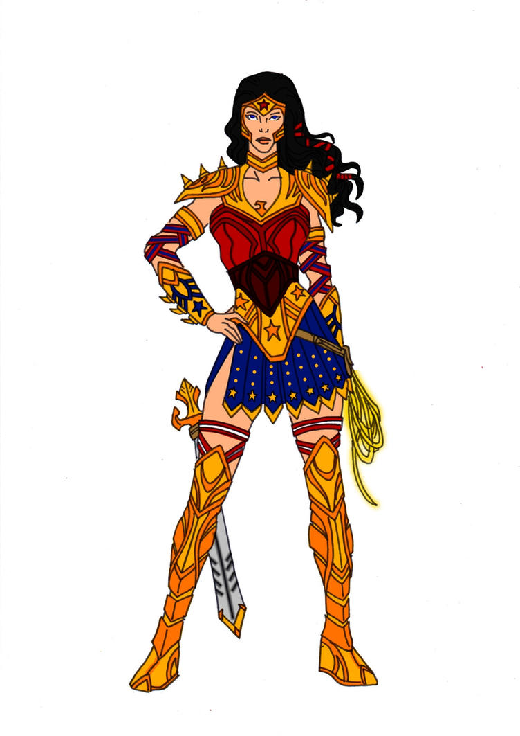 Wonder Woman Redesign! by Comicbookguy54321