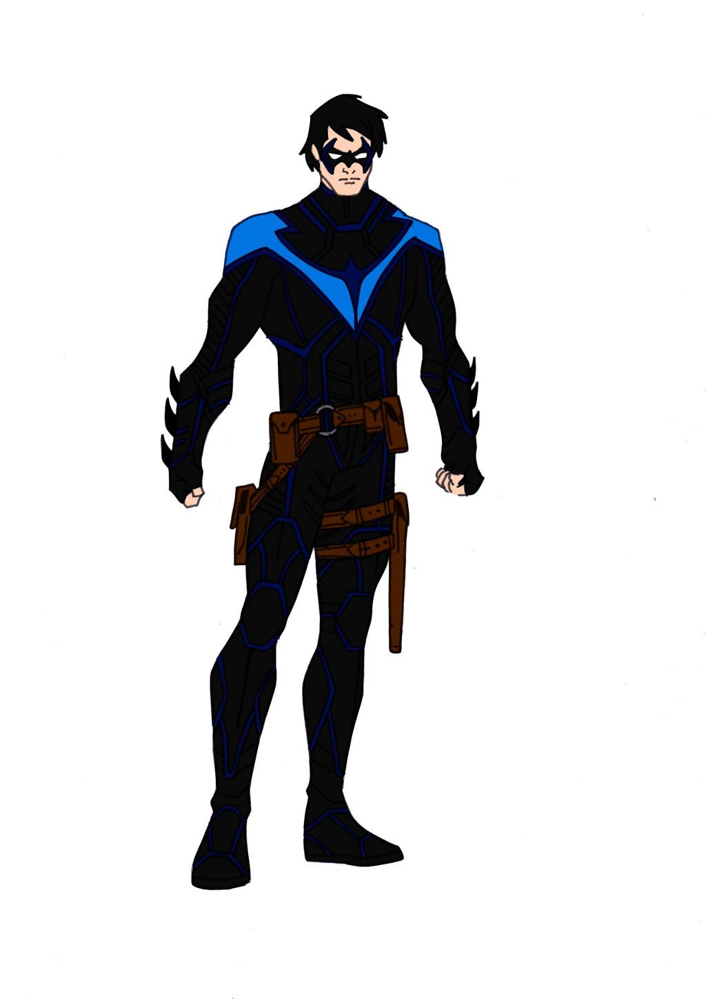 Nightwing Redesign! by Comicbookguy54321