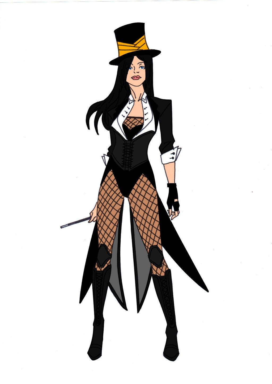 Zatanna Redesign! by Comicbookguy54321 on DeviantArt