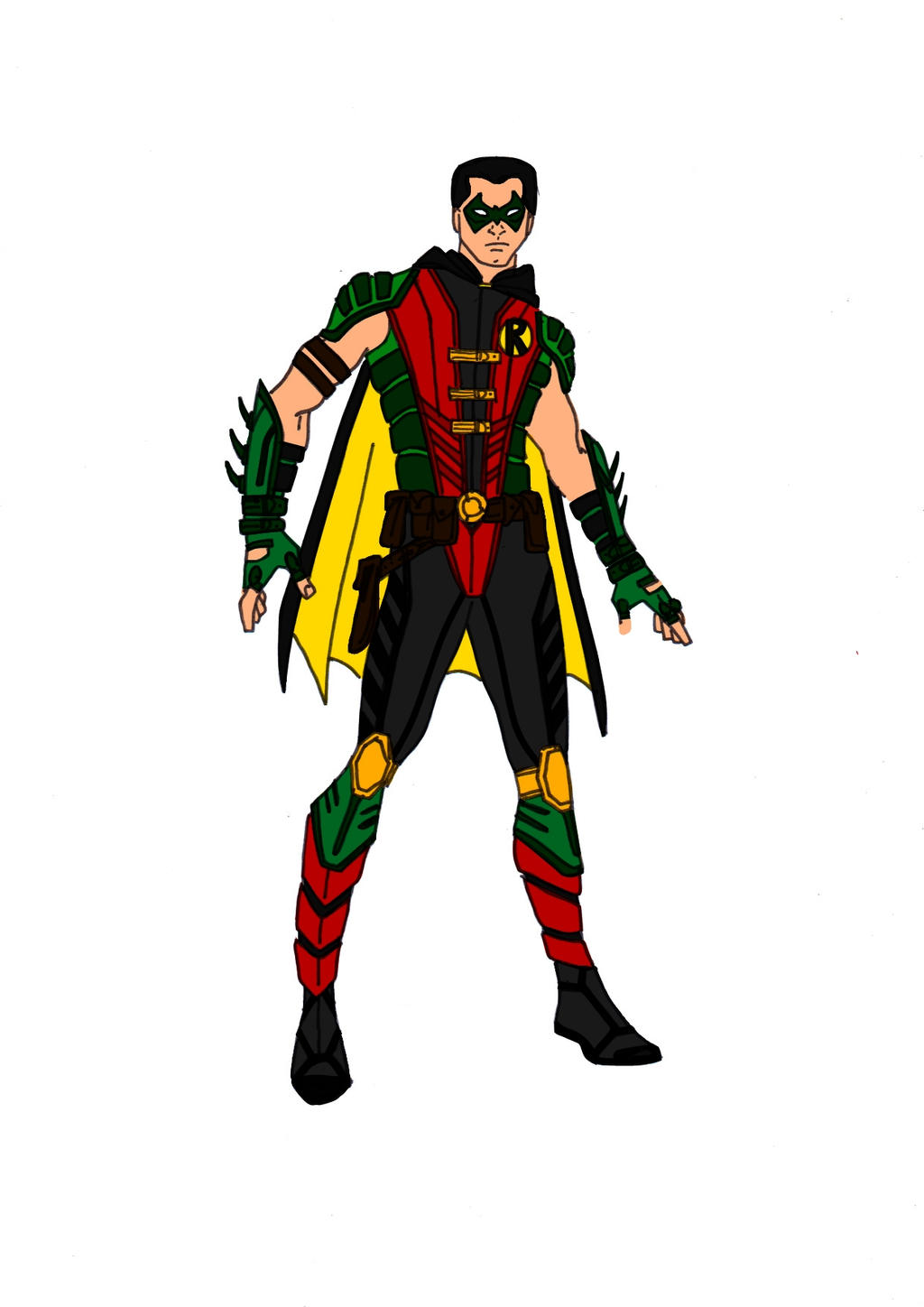 Robin Redesign! by Comicbookguy54321
