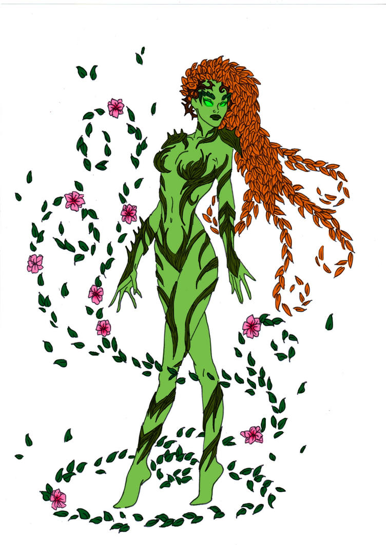 Poison Ivy Gotham Uprising by Comicbookguy54321
