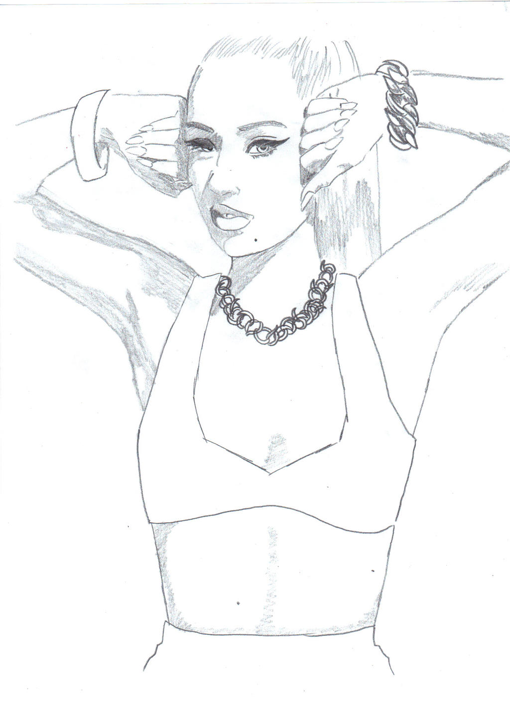 iggy azalea coloring pages 58595 trendnet