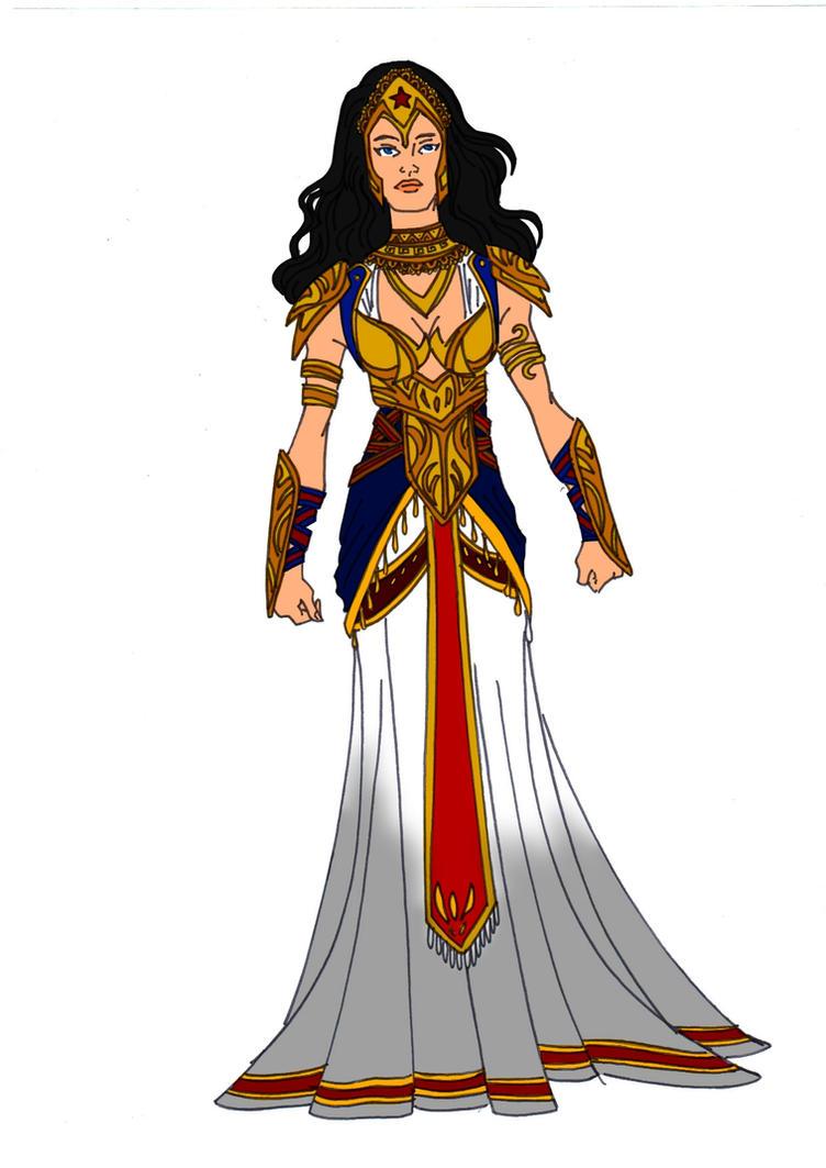 Wonder Woman~Gotham Uprising by Comicbookguy54321