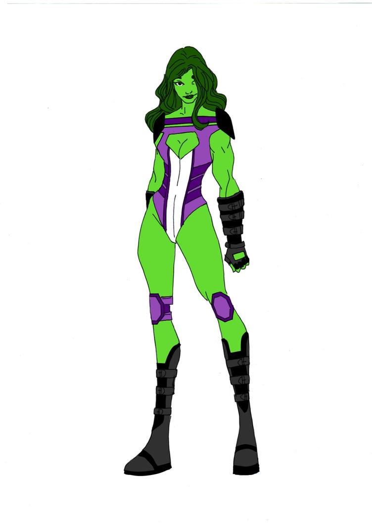 She-Hulk Redesign by Comicbookguy54321