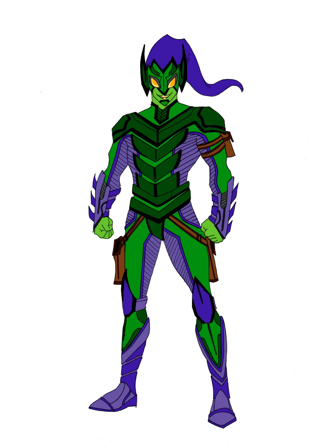 Green Goblin Redesign! by Comicbookguy54321