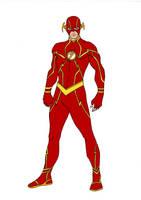 JLA~Year One Flash by Comicbookguy54321